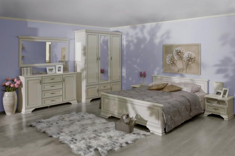 спальня Kentaki белый брв купить цена интернет магазин ваш артдом